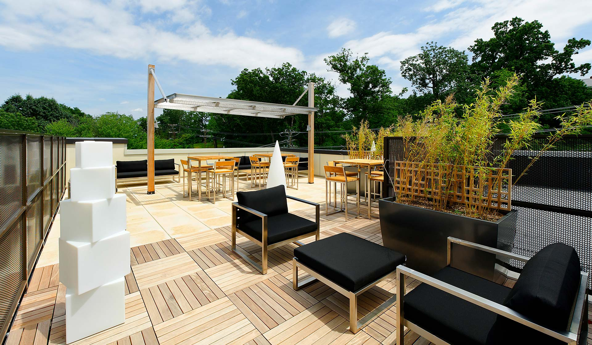 Avery Row - Rooftop Deck