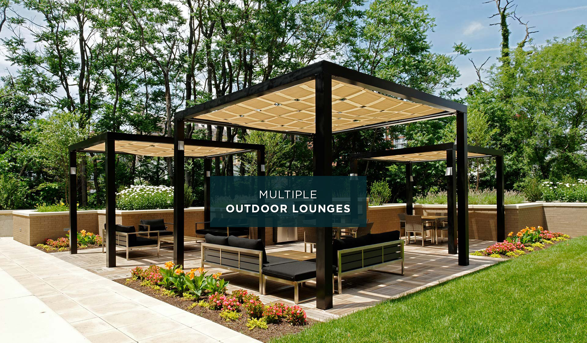Avery Row - Outdoor Lounge - Alrington, VA